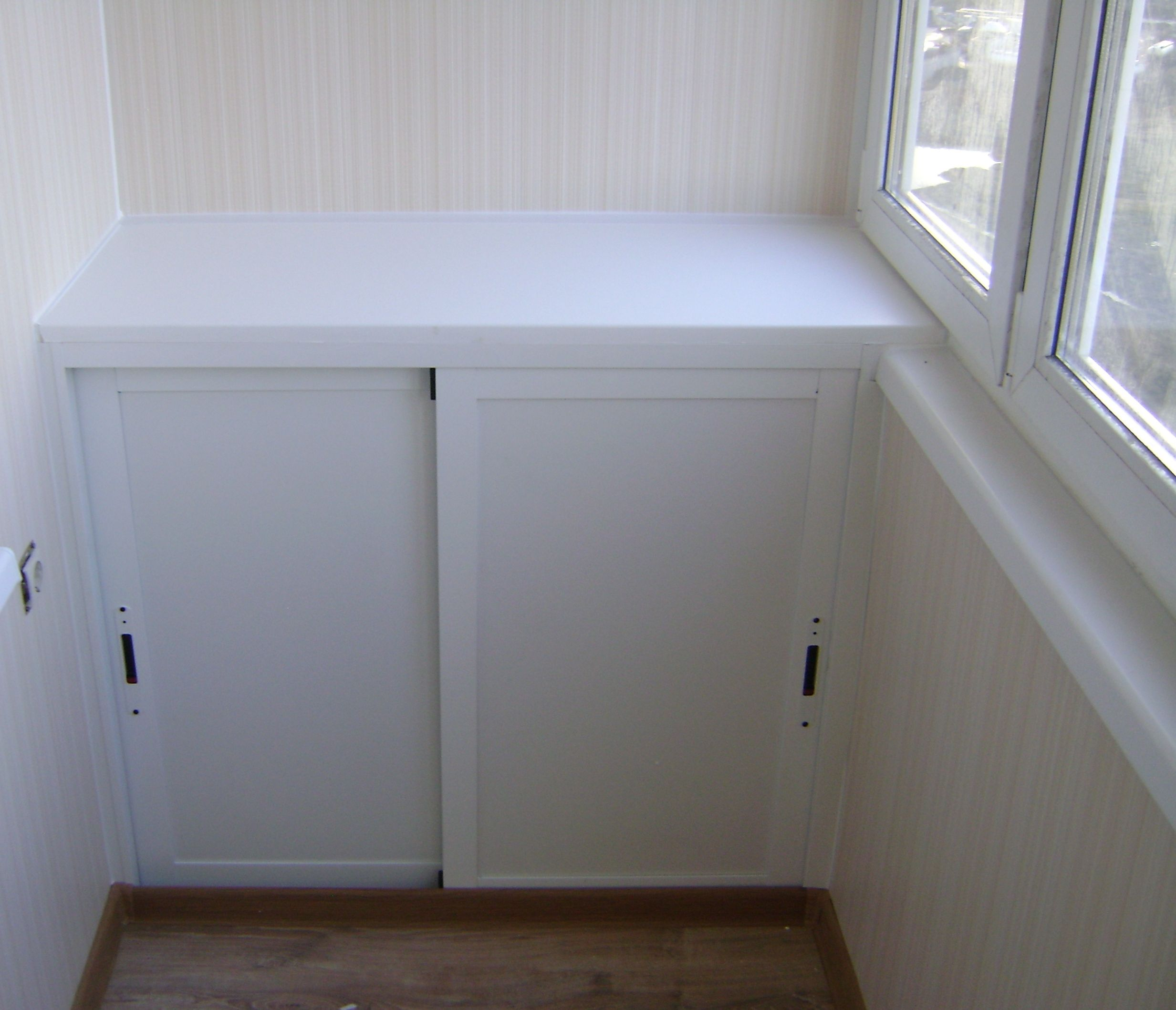 Как сделать внутреннюю отделку балкона своими руками